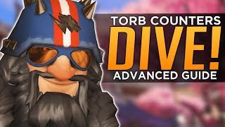 Overwatch: Torbjorn COUNTERS DIVE! - Advanced Guide