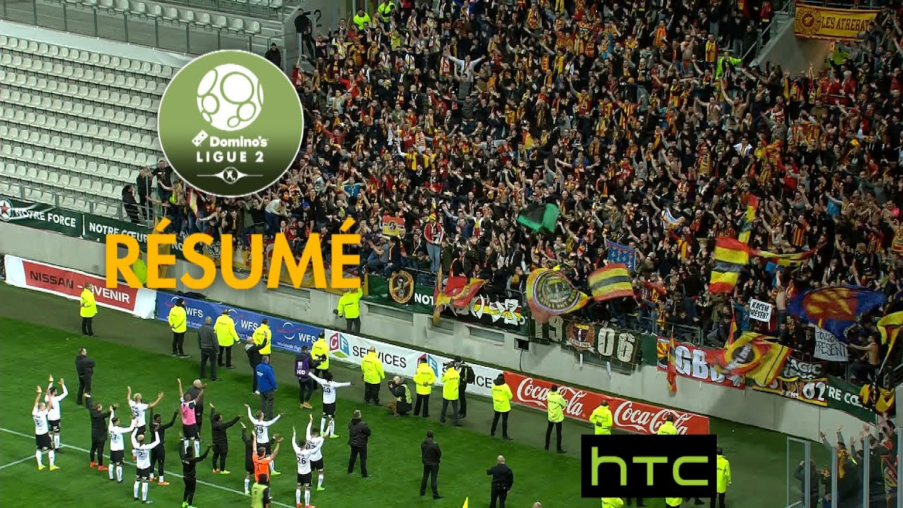 red star fc - rc lens  2-3  - r u00e9sum u00e9 -  red   2016