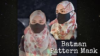 I Make Batman Pattern Face Mask