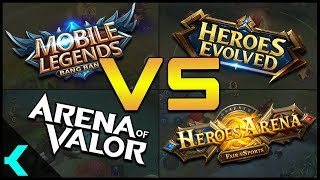 ULTIMATE VS!! | Mobile Legends, Arena of Valor, Heroes Evolved, Heroes Arena
