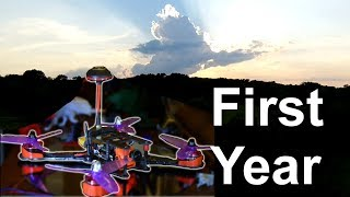 Racing Quadcopter: First Season of Flying (FPV edit)