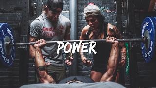 Ashley Horner & Terron Beckham Killer Power Session | Athlete Trying Crossfit ??