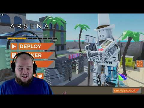hacker has dev skins roblox arsenal