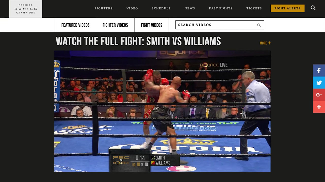 Smith vs Williams FULL FIGHT PREVIEW: November 18, 2017 - PBC on Bounce