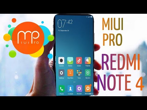 [EASY TO INSTALL] MIUI PRO ROM FOR REDMI NOTE 4   RISKFREE   [Review]