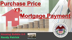 Housing Bubble 2.0 - Purchase Price vs. Mortgage Payment - Which One is More Important to You
