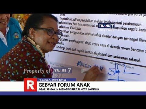 TRANS7 JATIM - Gebyar Forum Anak di Pasuruan