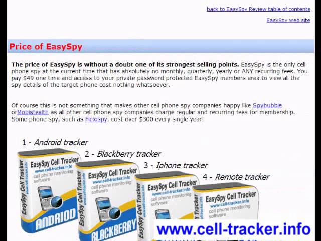 xEASY-SPY-CELL-TRACKER-x Travel Video