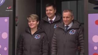 Экипажи ТПК «Союз МС-11» прибыли на Байконур