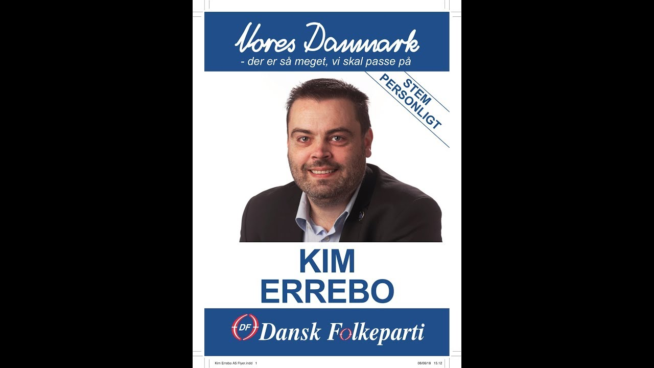 Folketingsvalg Dansk folkeparti Kim Errebo