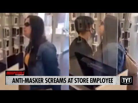 Anti-Masker SCREAMS At Store Employee
