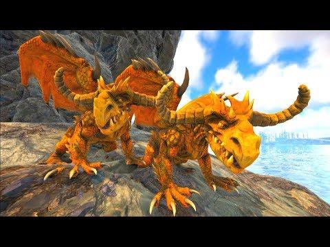 invadir-sem-querer-o-pequeno-covil-de-uma-fêmea-chamada-gabriela!-ark-dino-evolved