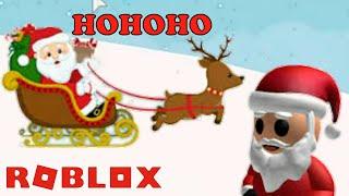 ROBLOX-Meet Santa Claus is good