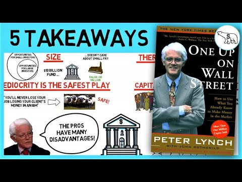 TOP 5 TAKEAWAYS: ONE UP ON WALL STREET SUMMARY (BY PETER LYNCH) Mp3