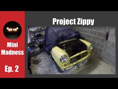 Project Zippy Episode 2 - Stripping the Engine Bay