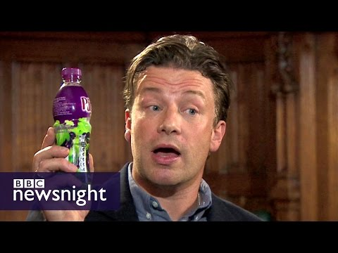 Jamie Oliver: Time to get 'medieval' on sugar - Newsnight