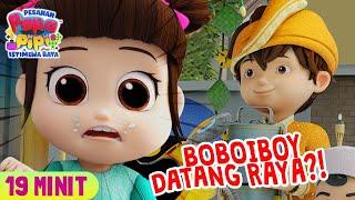 Download lagu BoBoiBoy Datang Rumah Pipi?!   Kompilasi   19 Minit   #PapaPipi