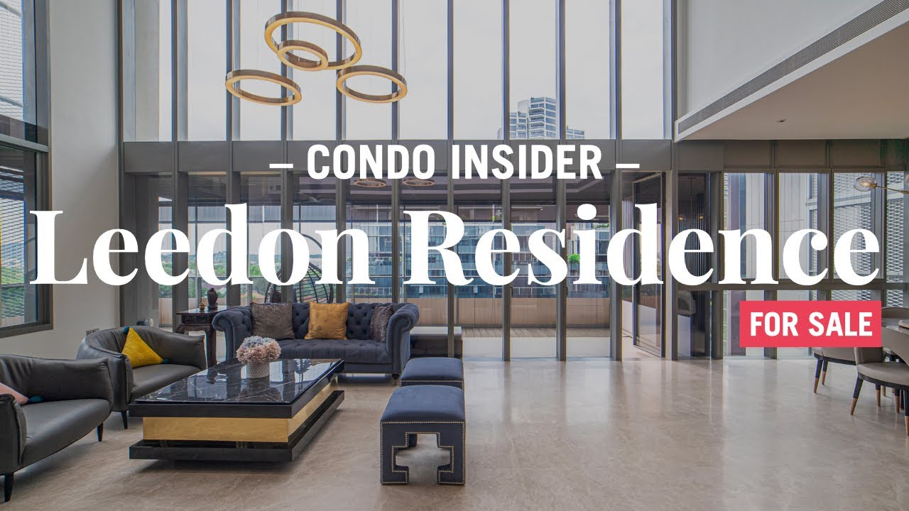 Leedon Residence penthouse for sale: Take the video tour of this spectacular triplex | Boulevard