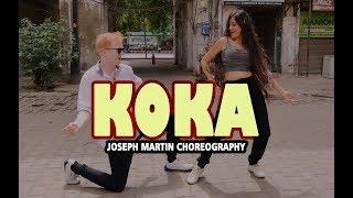 KOKA - DANCE COVER   Badshah   Dhvani Bhanushali   Jasbir Jassi   Joseph Martin Choreography