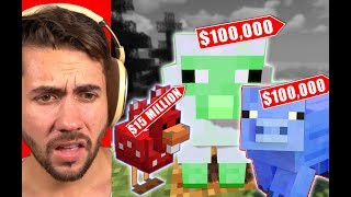How Much Will People Pay Me For Exotic Animals in Minecraft?