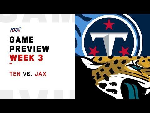 Tennessee Titans vs. Jacksonville Jaguars Week 3 NFL Game Preview