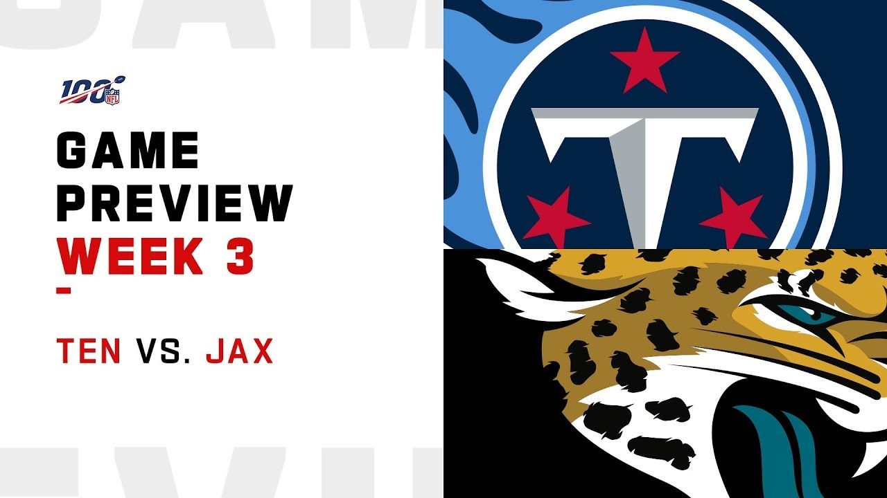 Jacksonville Jaguars Vs. Tennessee Titans: Thursday Night Football Week 3 NFL Schedule, Odds, Pick