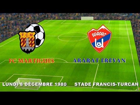 FC MARTIGUES - ARARAT EREVAN