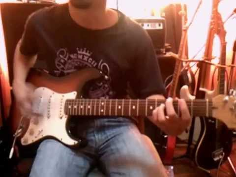Ady Qays Guitar Jam - Smashing Pumkins - Bullets With Butterfly Wings