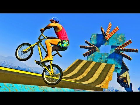 GTA 5 ONLINE | INSANE BMX PARKOUR