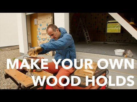 Vlog #2 How to make wood holds and circuits