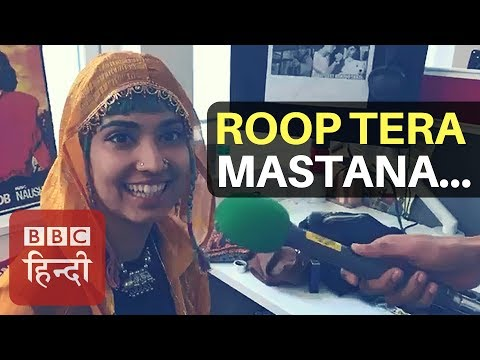 Fashion Designer and Funny Expressions Lady Jayeta Rohilla talks to BBC Hindi