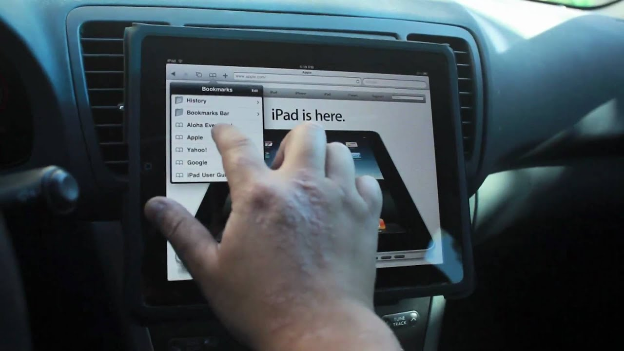 Diy Ipad Car Mount