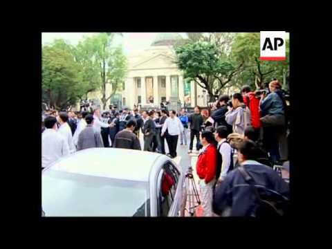 WRAP Media say prosecutors want former president's arrest, Chen in handcuffs