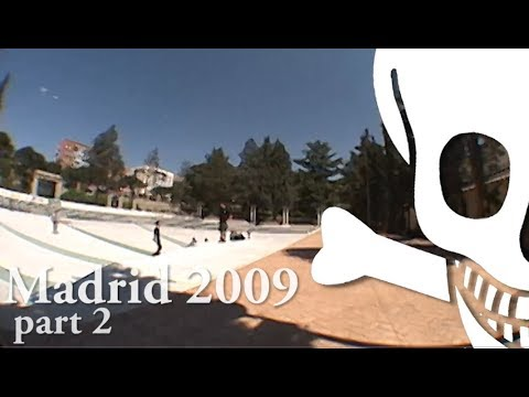 Death Skateboards Madrid 2009 Part 2 of 2 - Adam Moss, Boots, Cates, Nicolson, Moggins
