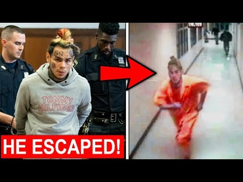 6ix9ine&39;s Secret Plan To Escape From Being Locked Up