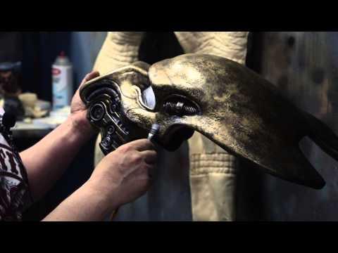 Tutorial How To Paint A Predator Elder Bio Helmet Mask With Joe Ta2pro Evans