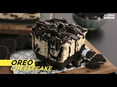 Resipi Oreo Cheesecake