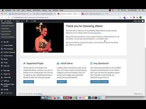 hướng dẫn sử dụng polylang - Hướng dẫn cài đặt và sử dụng Jnews Theme