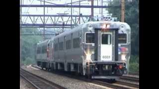 NJT Test Train on Amtrak NEC August 2003