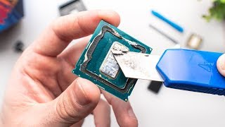 9900K Insanity Edition - Liquid Metal + Direct Die Cooling!