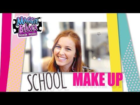 Maggie & Bianca Fashion Friends | GO.ZY. Make Up Tutorial – Maggie School Style