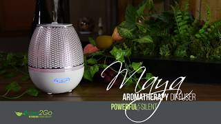 Maya Aromatherapy Diffuser - Instuctions & Cleaning - Aroma2Go