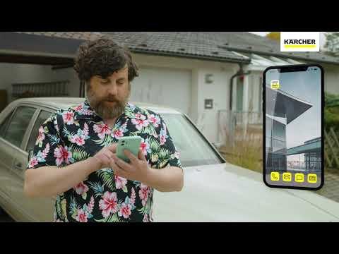 Using the Kärcher App with your Pressure Washer