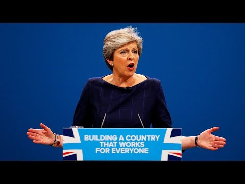 Theresa May's Tory conference speech - watch live