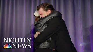 11-Year-Old Meets The Man Who Gave Her A Life-Saving Gift   NBC Nightly News