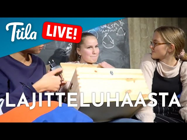 TTILA LIVE: Ekologiaa! (MYSTEERIBOKSISSA LAJITTELUHAASTE!)