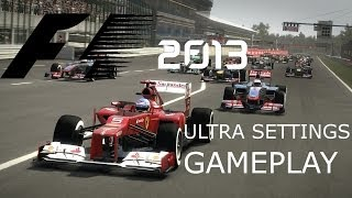 F1 2013 US Grand Prix Ultra Settings - Intel i5 3470, Ati Radeon HD 7850 Oc - Gameplay