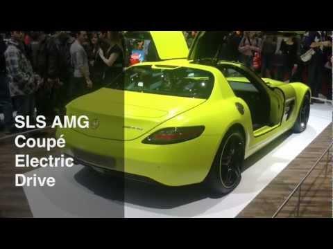 mercedes amg sls electric drive
