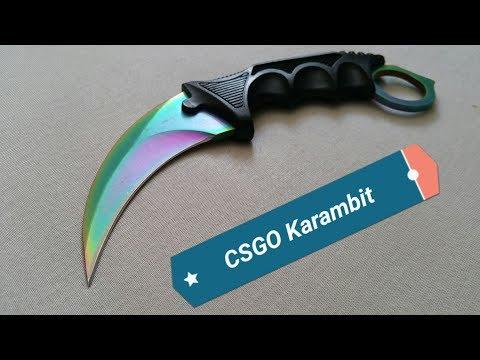 CSGO Karambit Knife Fade  - Karambit Messer - Review + Test