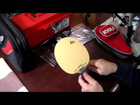 Changing Table Tennis Rubber Part 2 - HDV 0414